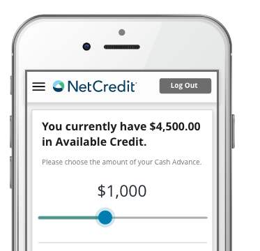Personal Online Line of Credit Up to $8,8 NetCredit