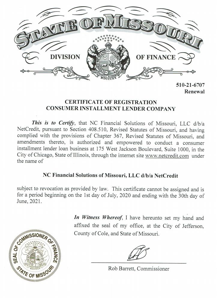 lending license